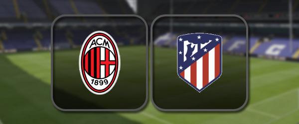 Милан - Атлетико онлайн трансляция