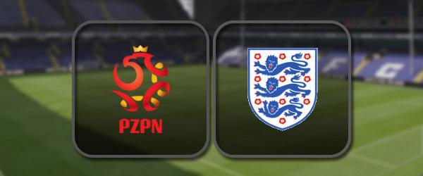 Польша - Англия: Полный матч и Лучшие моменты