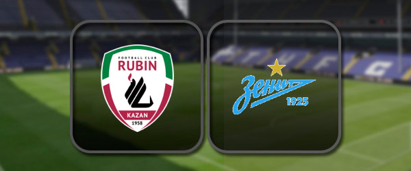 Рубин - Зенит онлайн трансляция