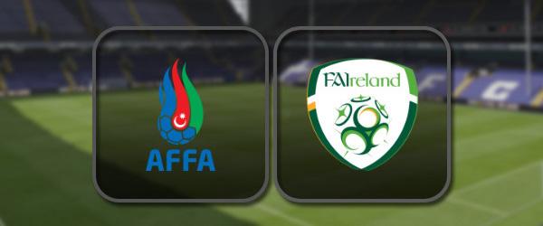 Азербайджан - Ирландия онлайн трансляция