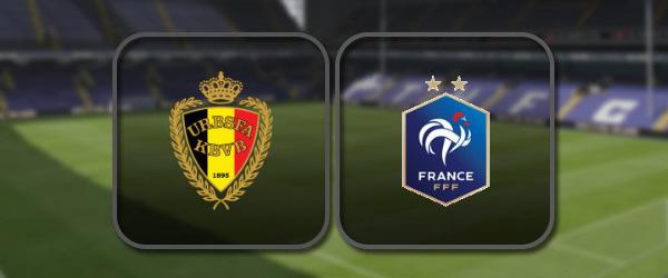 Бельгия - Франция: Полный матч и Лучшие моменты