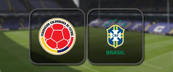 Колумбия - Бразилия: Полный матч и Лучшие моменты