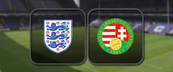 Англия - Венгрия: Полный матч и Лучшие моменты