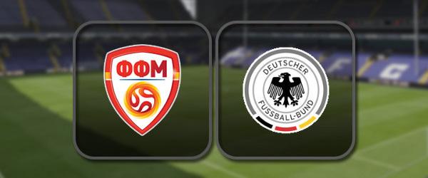 Северная Македония - Германия: Полный матч и Лучшие моменты